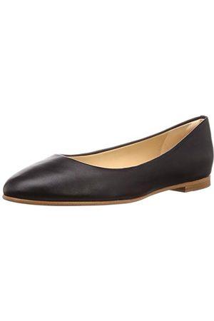 Clarks Grace Piper, Ballerines Femme, (Black Leather Black Leather), 37 EU