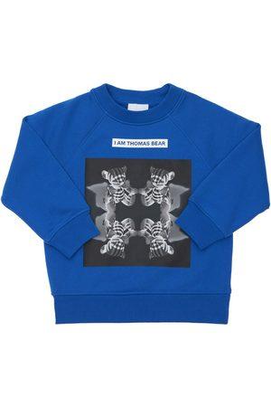Burberry Sweatshirts - Sweat-shirt En Coton Imprimé