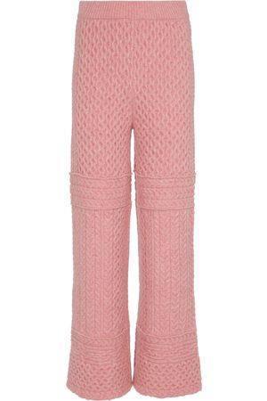 Nanushka Pantalon Fina en maille torsadée