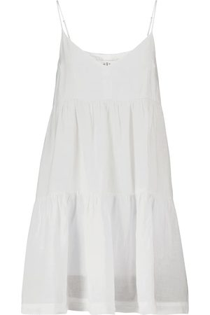 Velvet Mini-robe Emmy en lin