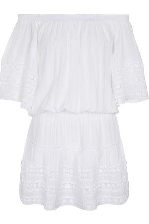 Melissa Odabash Exclusivités Mytheresa – Mini-robe Michelle à encolure Bardot