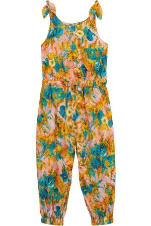 ZIMMERMANN Combi-pantalon Estelle à fleurs en coton