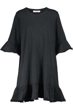 Dorothee Schumacher Mini-robe Mixed Magic en coton bordé denim