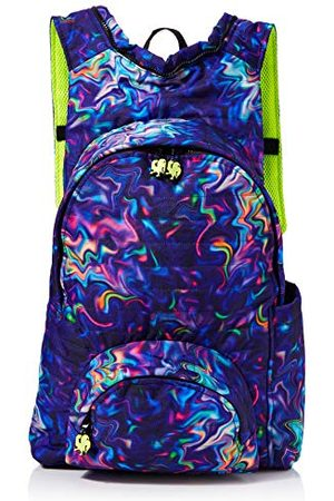 Morikukko Hooded Backpack Basic Patterned Plaidmixte adulteSacs à dosMulticolore (Patterned Plaid)33x8x40 Centimeters (W x H x L)