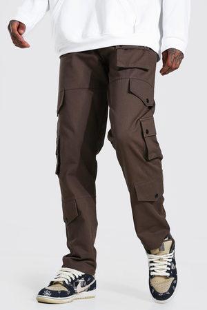 Boohoo Pantalon cargo effet décontracté Homme