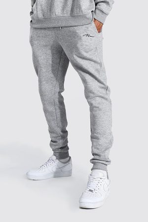 Boohoo Tall Recycled MAN Script Skinny Fit Jogger Homme