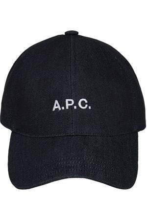 A.P.C. Casquette En Denim Avec Logo