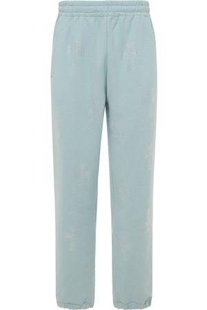 UNKNOWN Pantalon De Jogging En Coton À Motif Croix