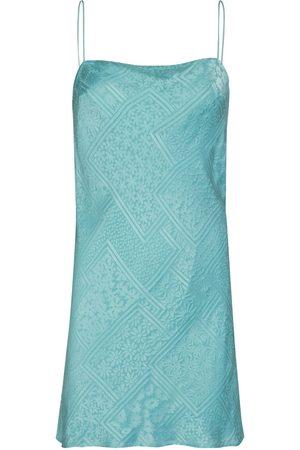 ROTATE Mini-robe En Satin De Viscose Mélangée Line
