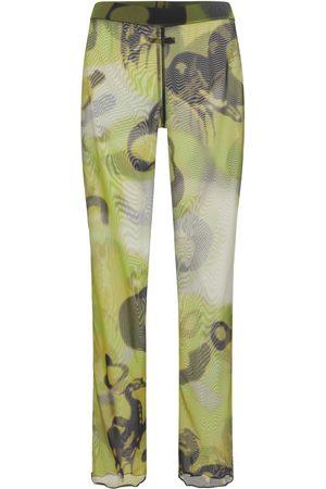 HERON PRESTON Pantalon En Mesh À Motif Camouflage Hern