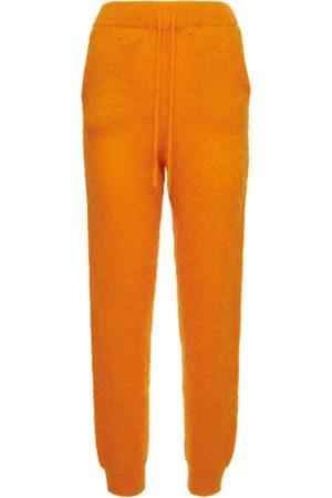 ROTATE Pantalon En Maille De Mohair Mélangé Rhea