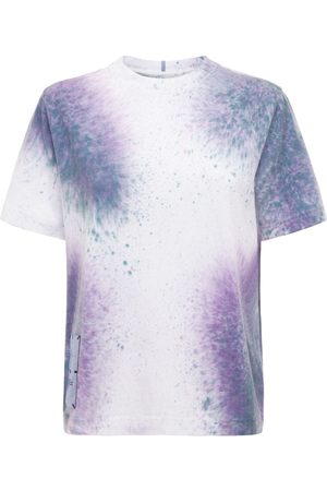 McQ Femme T-shirts - T-shirt En Coton Tie & Dye Breathe