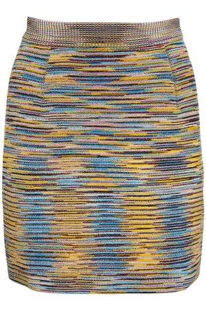 Missoni Mini-jupe En Maille De Laine Mélangée