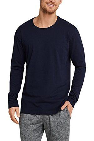 Schiesser Homme Pyjamas - Mix & Relax Langarmshirt Rundhals Haut De Pyjama, (Dunkelblau 803), X-Large (Taille Fabricant: 054) Homme