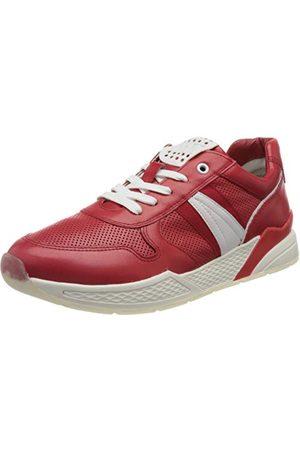 Marco Tozzi Femme Chaussures - 2-2-23731-26 Leder Sneaker, Basket Femme, Red Comb, 41 EU