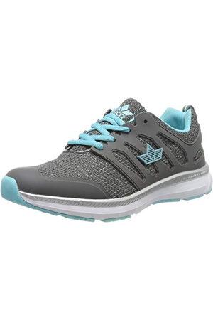 LICO Felia, Sneakers Basses Femme, Grau Türkis Grau Türkis, 38 EU