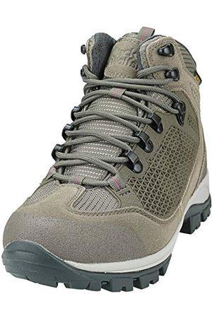 Jack Wolfskin All Terrain Pro Texapore Mid W, Chaussures de Randonnée Hautes Femme Beige (Siltstone 5116) 42 EU