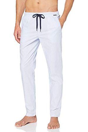 Skiny Herren Sloungewear Hose LG. Bas de Pyjama, (Kosmosblue Stripe 5029), S Homme