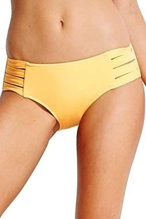 Seafolly Active Multi Strap Hipster Bas De Maillot, (Buttercup Buttercup), 38 (Taille Fabricant: 10) Femme