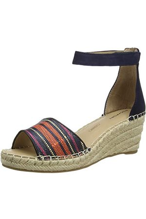 Rockport Marah 2 Piece Ankle Sandal, Plateforme Femme, Marine 002, 38 EU