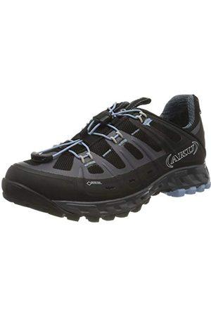 Aku Selvatica GTX W's, Chaussures de randonnée Femme, Schwarz Black Light Blue, 40 EU