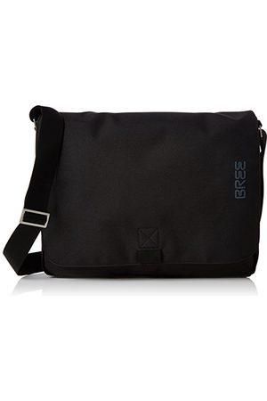 Bree Punch Style 49, Black, Messenger Bag, Sacs portés épaule mixte adulte, Schwarz (Black), 8x28x38 cm (B x H T)