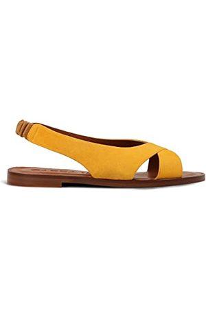Gadea ANA1488-1, Sandale plate Femme, (Ante Safron), 36 EU