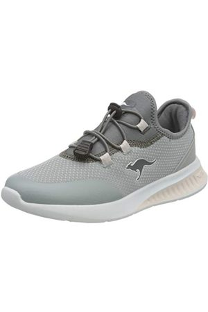 KangaROOS KL-Tech, Basket Femme, Vapor Grey Frost Pink 2063, 40 EU