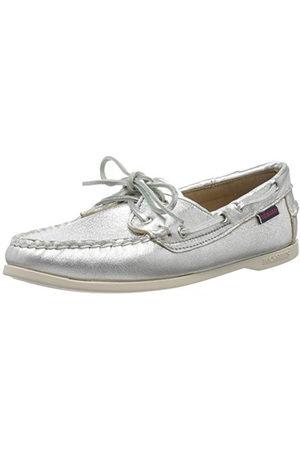 SEBAGO Jacqueline Metal W, Chaussures Bateau Femmes, é (Silver 988), 37.5 EU