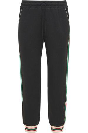Gucci Pantalon De Jogging En Jersey Jacquard Gg