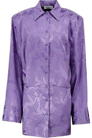 The Attico Robe chemise en jacquard