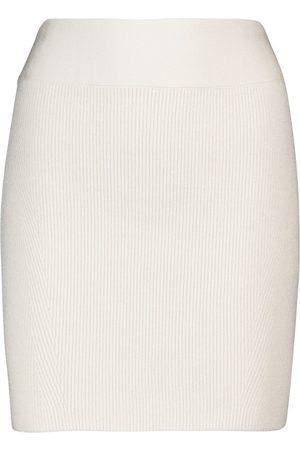 GALVAN Mini-jupe côtelée