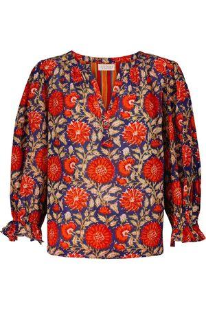 Velvet Top Millie à fleurs en coton