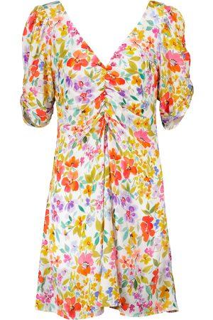 Velvet Mini-robe Melinda à fleurs