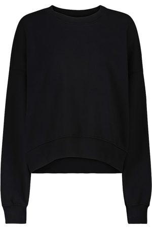 Velvet Sweat-shirt Ajia en coton