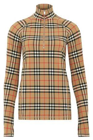 Burberry T-shirt à manches longues