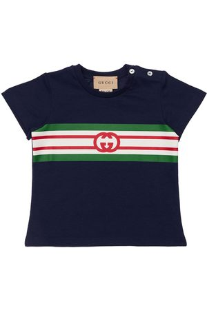 Gucci T-shirt En Jersey Imprimé Logo