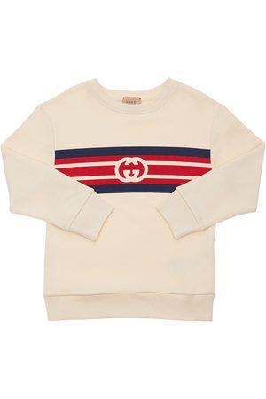 Gucci Fille Sweatshirts - Sweat-shirt En Coton À Logo