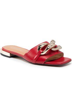 R. Polański Femme Mules & Sabots - Mules / sandales de bain R.POLAŃSKI - 1271 Czerwony Lico