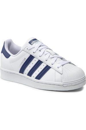 adidas Garçon Chaussures basses - Chaussures - Superstar J GZ9096 Ftwwht/Ngtsky/Ftwwht
