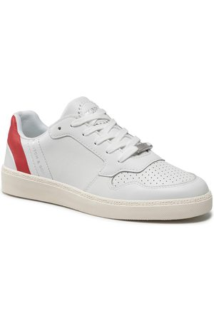 Scotch & Soda Femme Baskets - Sneakers - Laurite 22731716 White/Red S273