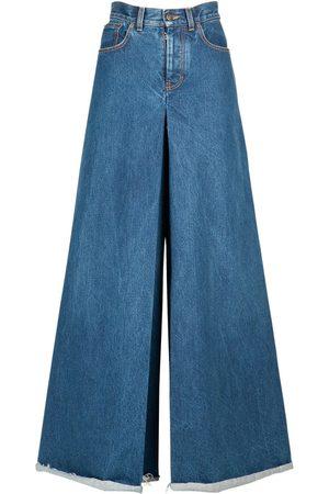 Maison Margiela Pantalon En Denim De Coton