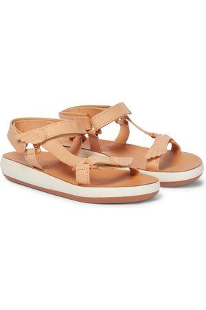 Ancient Greek Sandals Sandales Poria Comfort en cuir