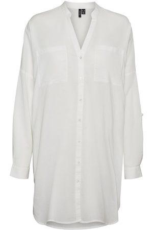 Vero Moda Femme Tuniques - Rayures Coupe Ample Tunique Women White