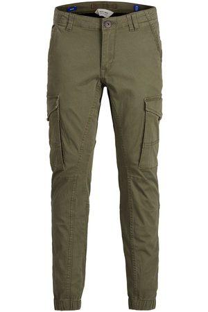 JACK & JONES Garçons Pantalon Cargo Men green