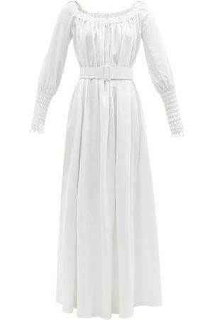 MARTA FERRI Femme Robes longues - Robe longue en coton mélangé Noel