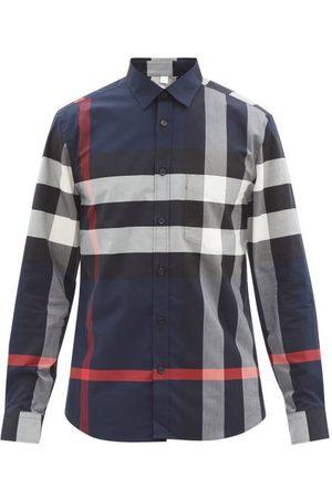 Burberry Homme Chemises - Chemise en sergé à carreaux Somerton