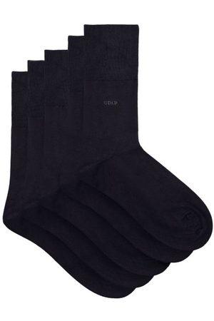 CDLP Ensemble de cinq paires de chaussettes en jersey