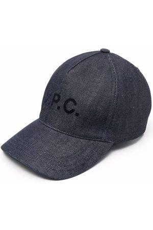 A.P.C. Casquette à logo imprimé