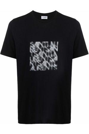 Saint Laurent T-shirt à imprimé graphique